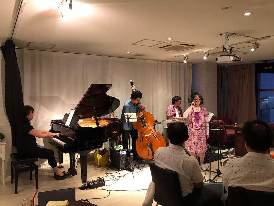 徳島Jazzボーカルクラス発表会