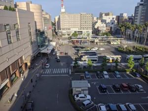 夕方の徳島駅